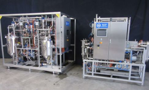Manufacturing a special twin head UHT-line